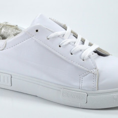 Adidasi de dama albi masura  38 39 40 41, Din imagine, Piele sintetica