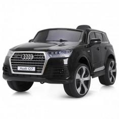 Masinuta Electrica SUV Audi Q7 2017 Black - Masinuta electrica copii Chipolino