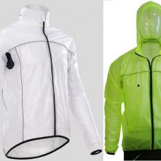 Geaca impermeabila ploaie Verde sau alba respirabila windstopper transparenta, Bluze/jachete