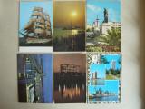 Constanta, Litoral - Lot 20 carti postale RSR, Ambele, Fotografie, Romania de la 1950