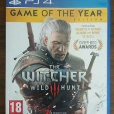 The Witcher 3: Wild Hunt - Game of the Year Edition - [PlayStation 4] - Assassins Creed 4 PS4 Ubisoft