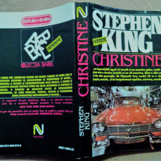 Christine - Stephen King - Carte Horror, An: 1994, Nemira