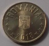 ROMANIA 50 BANI 2018 UNC vulturul cu coroana DIN FISIC **