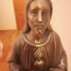 vand statueta veche din bronz lacuit