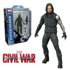 Marvel Select, Captain America Winter Soldier Civil War 18 cm