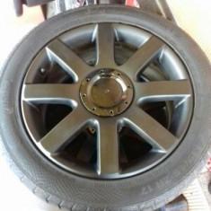 Jante Audi S-line R 17 Originale + anvelope de vara. pret bun, 5