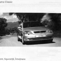 Manual UTILIZARE - OPEL ASTRA CLASSIC - eBook v2.0