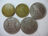 Romania (2): 20 Lei 1992, 1993, 100 Lei 1992, 1993, 1994