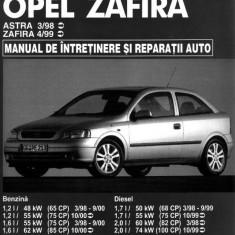 Manual SERVICE - OPEL Astra / Zafira - versiune imprimată laser, pe comandă - Manual auto, Manual reparatie auto
