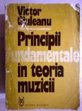 Victor Giuleanu - Principii fundamentale in teoria muzicii