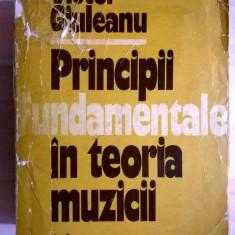 Victor Giuleanu - Principii fundamentale in teoria muzicii - Carte Arta muzicala