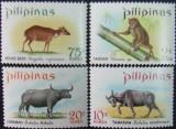 PILIPINAS - FAUNA,  4 V,  NEOBLIT. - PHL 10