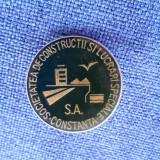 Insigna Constanta - Soc. de constructii si lucrari speciale S. A.