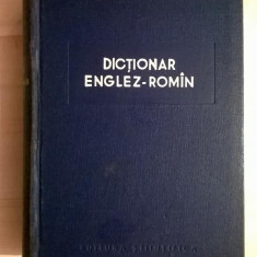 Dictionar englez-roman {1958}
