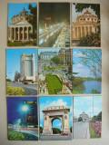 Bucuresti - Lot 56 carti postale RSR, Necirculata, Fotografie, Romania de la 1950