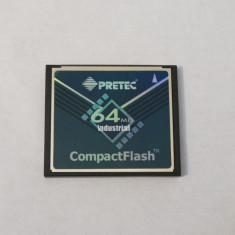 Card memorie Compact Flash CF 64 Mb - Card memorie foto Kingston, 512 MB