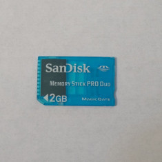 Card memorie SanDisk Memory Stick Pro Duo 2 Gb Magic gate - Card memorie foto Kingston, Compact Flash