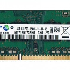 Memorie Laptop SODIMM Samsung 4GB DDR3 PC3-12800S 1600Mhz