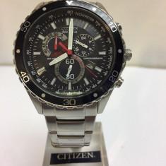 CEAS Citizen Men's Eco-Drive Chronograph Tachymeter Bracelet Watch - Ceas barbatesc Citizen, Quartz