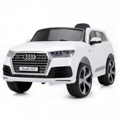 Masinuta Electrica SUV Audi Q7 2017 White - Masinuta electrica copii Chipolino