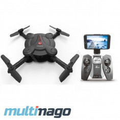 Drona cu WIFI FPV IDrone 8992HW, brate pliabile si auto-intoarcere