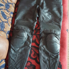 Pantaloni piele Probiker, certificati ISO, marimea 52. - Imbracaminte moto