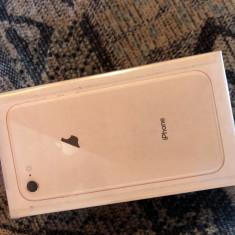 Apple iPhone 8 256GB Gold nou sigilat - Telefon iPhone Apple, Auriu, Neblocat