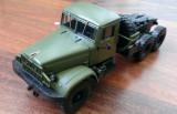 Macheta camion KrAZ 214V Cap tractor - noua, scara 1/43