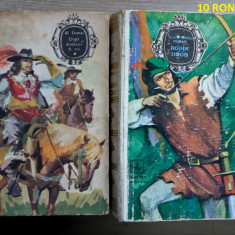 Lot 10 carti - ALEXANDRE DUMAS - literatura universala, beletristica