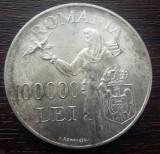 (A178) MONEDA DIN ARGINT ROMANIA - 100.000 LEI 1946, REGELE MIHAI I