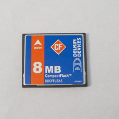 Card memorie Compact Flash CF 8 Mb - Card memorie foto Kingston, 512 MB