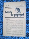 Revista BILETE DE PAPAGAL - T. ARGHEZI (No. 31, Vol. IV)