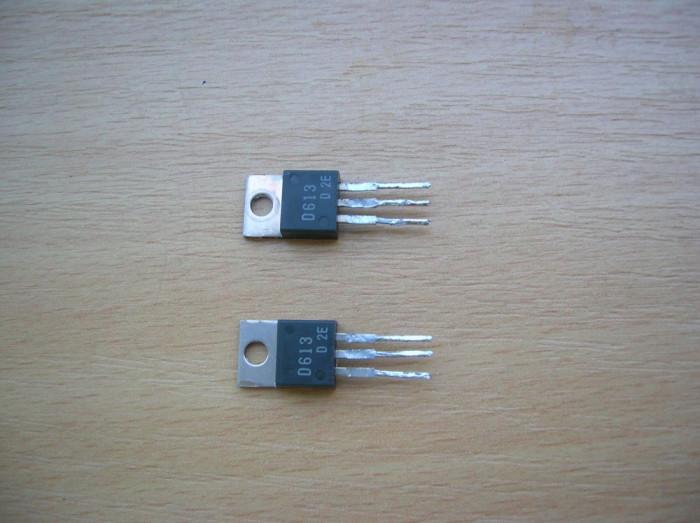 set 2 tranzistoare putere 2SD613