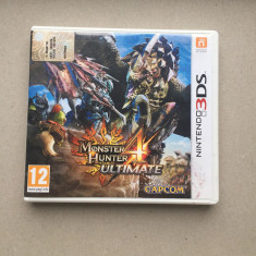 Joc Monster Hunter 4 Ultimate Nintendo 3Ds - Jocuri Nintendo 3DS