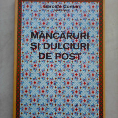 Mancaruri si dulciuri de post - GAROAFA COMAN - Carte Retete de post