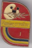 Insigna  Pionier Creator I