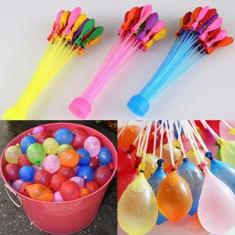 Baloane colorate pentru apa cu sistem de umplere, set 37 bucati