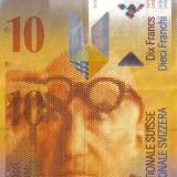ELVETIA - 10 franci - UNC