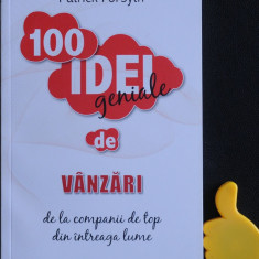 100 idei geniale de vanzari Patrick Forsyth - Carte afaceri