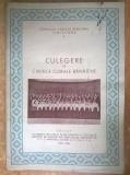 Culegere de cantece corale banatene {1955-1956}