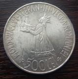 (A133) MONEDA DIN ARGINT ROMANIA - 500 LEI 1941, REGELE MIHAI I - STEFANITA