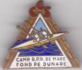 Insigna CCS  Camp. R.P.R de Mare , Fondat pe Dunare