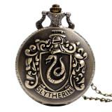 Pandantiv Medalion Lantisor Ceas Harry Potter Slytherin