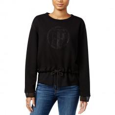 Bluza TOMMY HILFIGER Big Logo Neagra - Bluze Dama, Femei - 100% AUTENTIC, S, Negru, Guess by Marciano