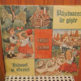 - Y- FRATII GRIMM - PAZITOAREA DE GASTE / HASENEL SI GRETEL - POVESTI, VINIL