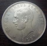 (R) MONEDA DIN ARGINT ROMANIA - 5 LEI 1906, CAROL I