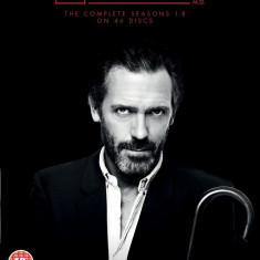 FILM SERIAL Dr. House : HOUSE M.D. The Complete Seasons 1-8 [46 DVD] Sigilat - Film Colectie independent productions, Engleza