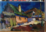 Tablou original NAGY OSZKAR, Peisaje, Ulei, Realism