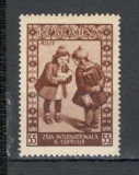 Romania.1955 Ziua internationala a copilului  YR.192, Nestampilat