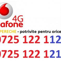 Vodafone numere pereche PLATINA - Cartela Vodafone